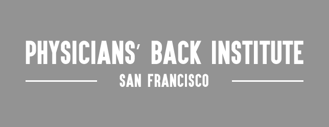 Physicians' Back Institute in San Francisco